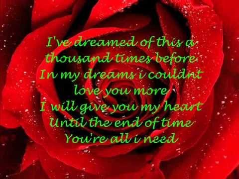 My Valentine Lyrics   Martina Mcbride