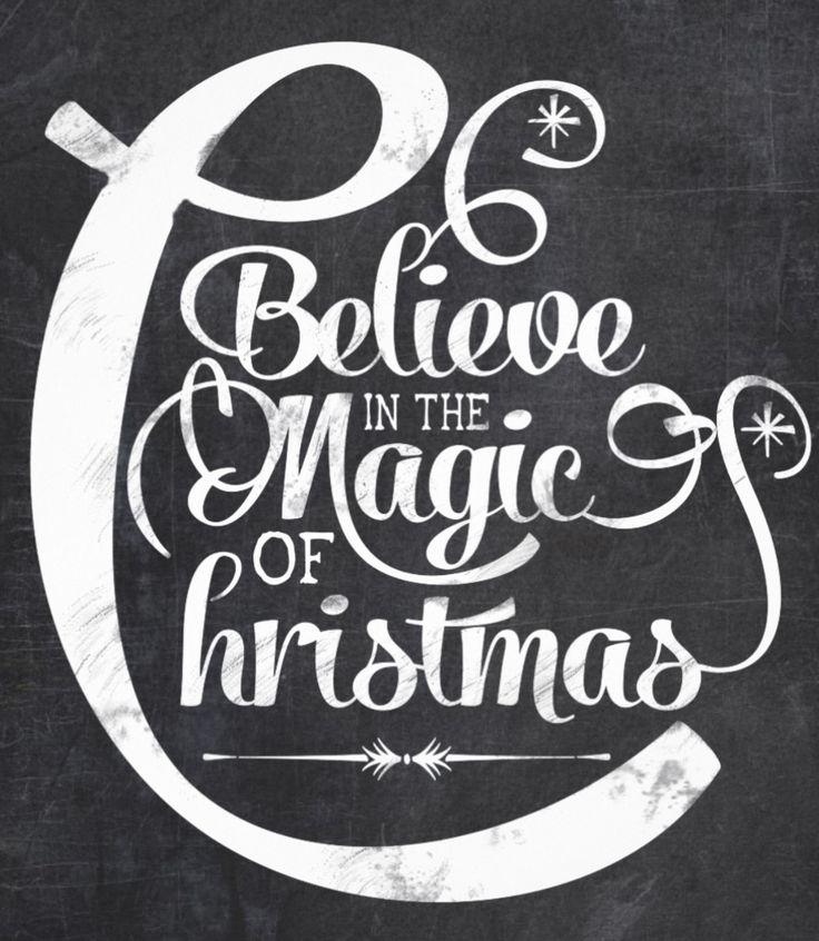 Believe in the magic of christmas chalkboard invitation card - http://www.zazzle.com/chalkboard_believe_in_the_magic_of_christmas-161174497184801221?rf=238087280021604351