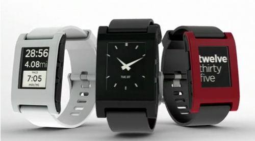 Pebble, un projet de montre compatible iPhone et Android