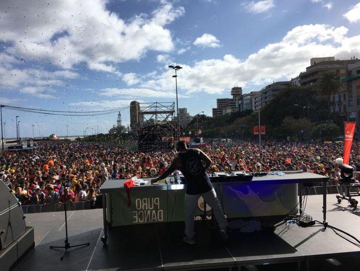 Grupo Mascarada Carnaval: Éxito rotundo en el Carnaval de Día de Radio Club ...