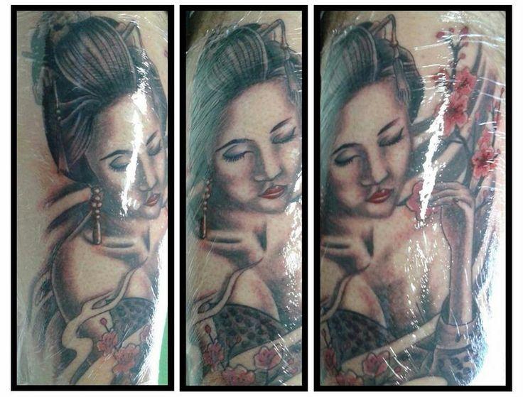 Gueixa tattoo