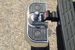 Tailgate Step. Stainless Steel, Ball Mount, Trailer Hitch Step