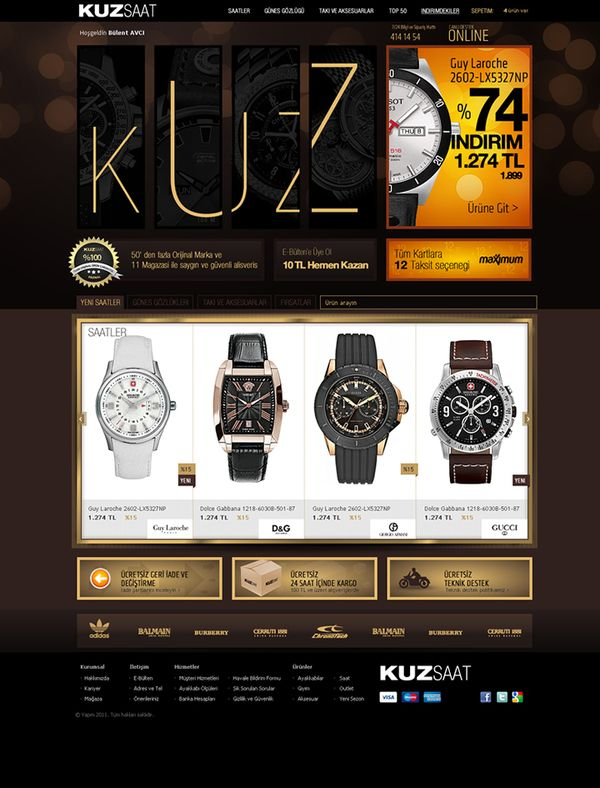 KUZ Watch Online Store
