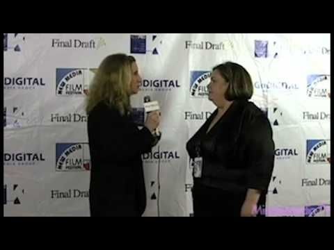 Jeanette Depatie (Producer's Guild of America, New Media Council) Interview at New Media Film Festival 3D Opening night celebration sharing her thoughts on win win win, creativity and doing more with less in the New Media space.