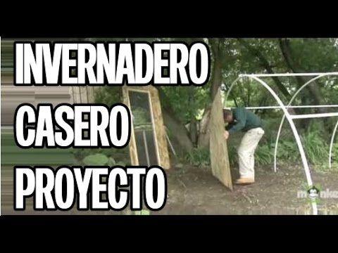 Invernadero Casero - Aprende como se hace: Como hacer un invernadero casero de PVC