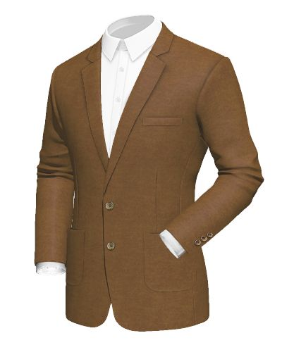 Brown cotton Blazer - http://www.tailor4less.com/en-us/men/blazers/2422-brown-cotton-blazer