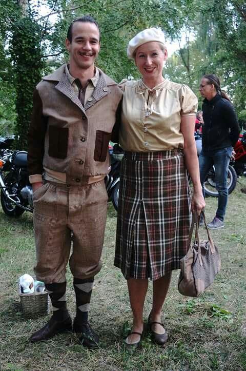 #TweedDay 2016 Berlin. #TweedJacket #TweedSkirt #TweedBag #TweedTrousers #knickerbockers #Blouse #VintageBlouse #1920 #1930 #1940 #VintageFashion #VintageStyle #VintageDesign #Bespoke #Tailoring