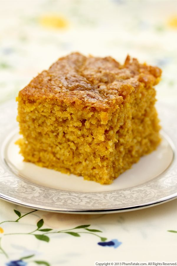Pumpkin Cornbread Recipe | Foodies | Pinterest