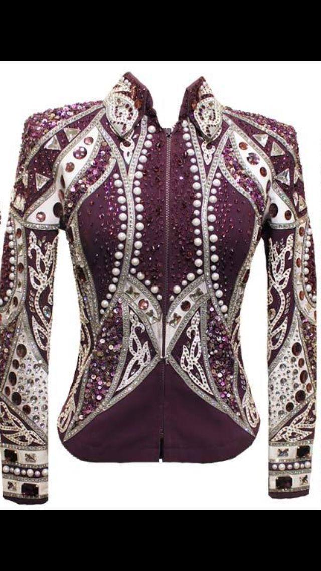 western pleasure show blouses
