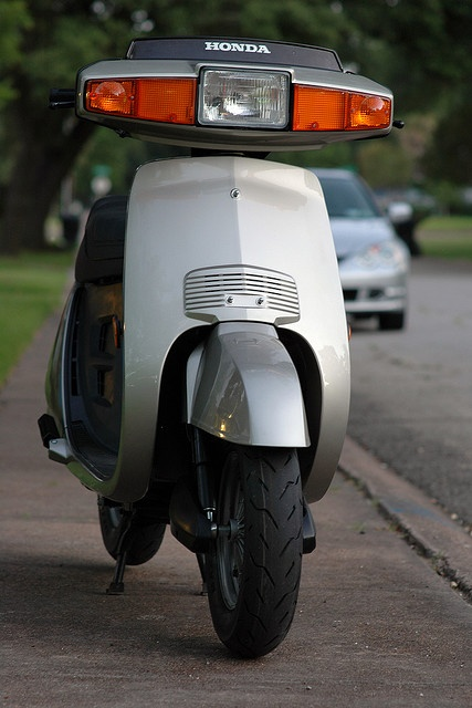 1983 Honda Aero 80. Fun scooter to ride.