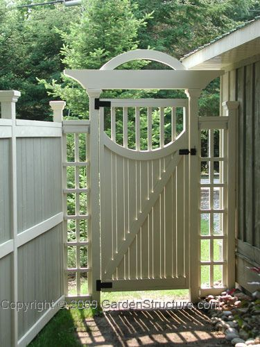 Unique Wood Garden Gates Plans