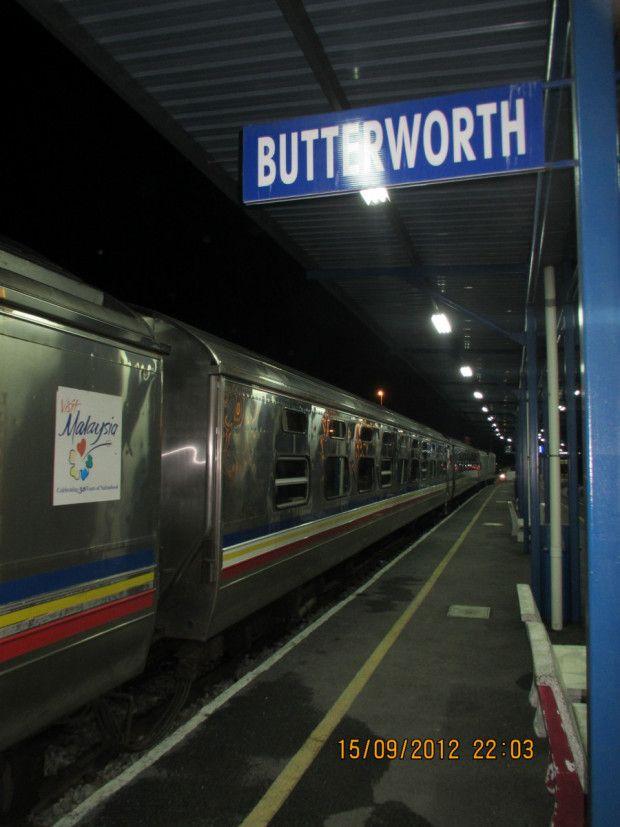 Penang To Kuala Lumpur By Night Train Aka Circling Malaysia By
