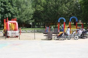 Brewer park - and the splash pad has been renovated this year!