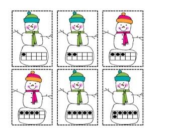 Snowman Sums-a center for math