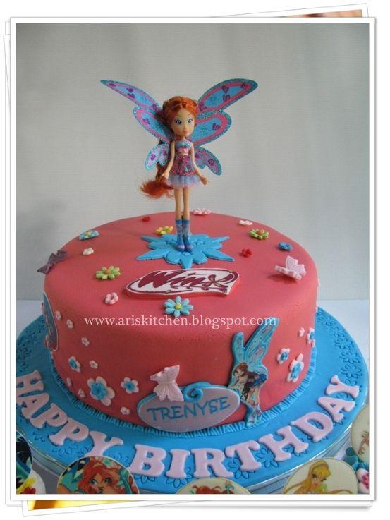 d'Angel Cakes: Winx Club Cake Theme