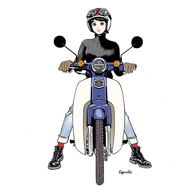 江口寿史のバイク画像