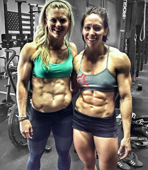 onlyfitgirls:Brooke Ence & Miranda Oldroyd: