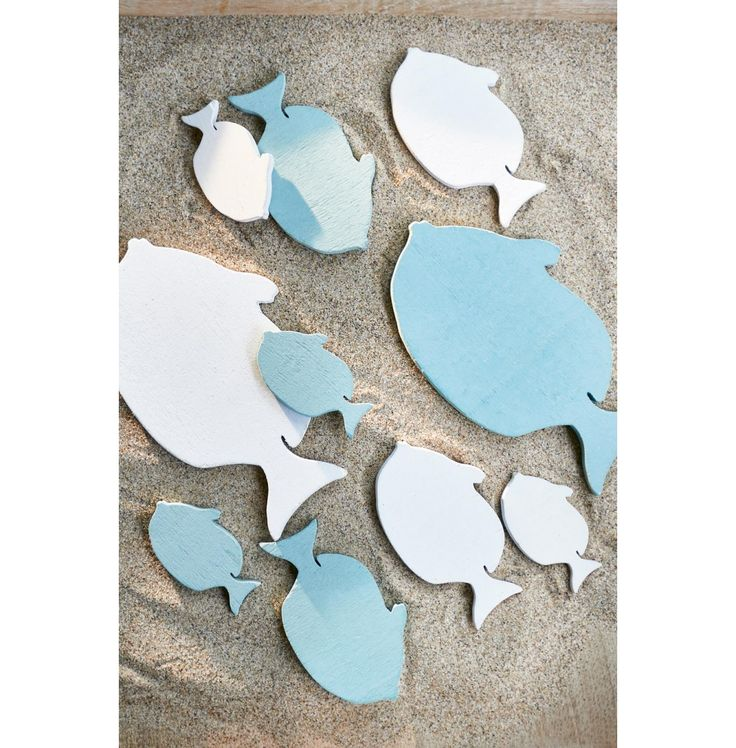 Craft Bay Fish Decoration 10pcs - Sylt | Rivièra Maison · Fish Decorations Oceans