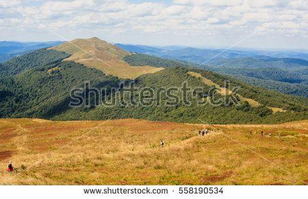 Polish Bieszczady mountains - Polonina Wetlinska