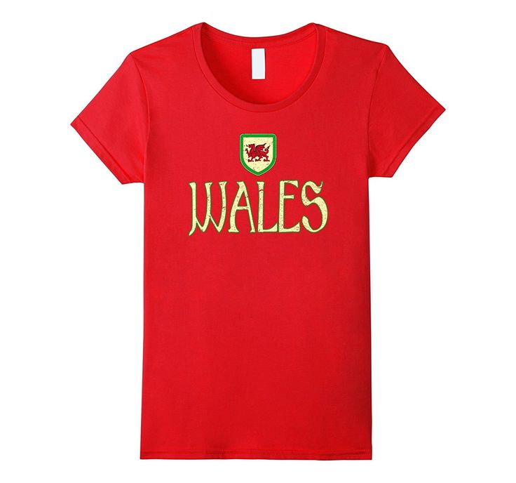 WALES T-shirt Welsh Pride Dragon Flag Soccer Football Rugby