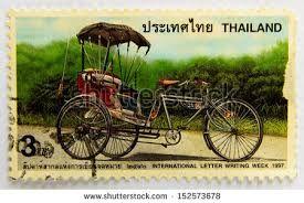 Timbre vélo Thaïlande