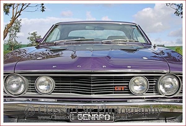 """""""Full Frontal"""" Falcon GT at the Falcon GT Club Concourse 2014 held at Caribbean Gardens, Melbourne on May4th, 2014."""