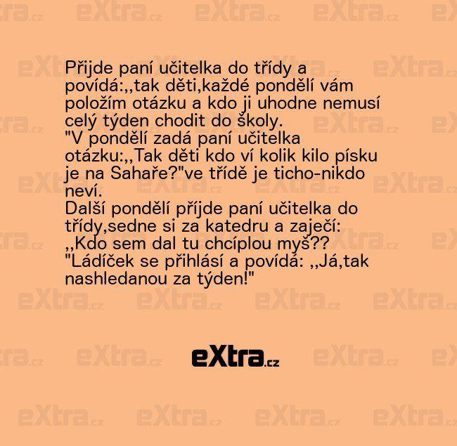 Jak se tomuhle klučinovi podařilo přelstít paní učitelku?   eXtra.cz