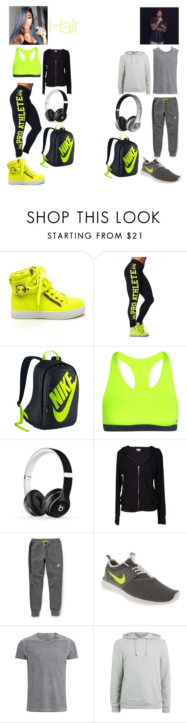 """""""Odell Beckam #3"""" by baeslife ❤ liked on Polyvore featuring NIKE, Beats by Dr. Dre, Velvet by Graham & Spencer, Belstaff, Topman and Supra"""