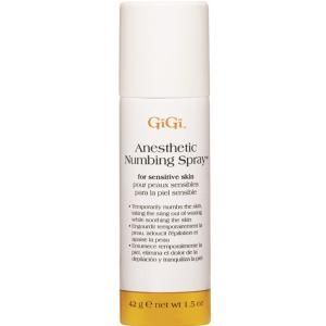 What to Apply for a Nearly Painless Wax: GiGi Anesthetic Numbing Spray
