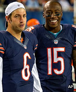 "Jay Cutler & Brandon Marshall ""Reunited and it feels so good."""