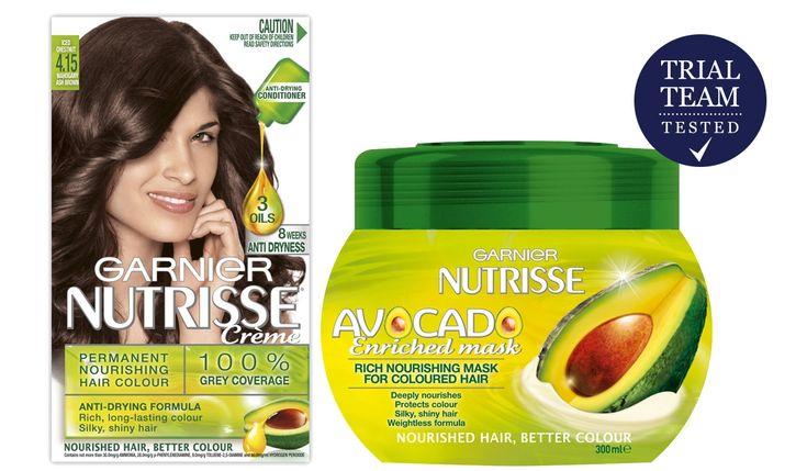 Garnier Nutrisse Hair Colour And Avocado Enriched Mask Trial Team Reviews