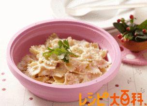 レンジで たらこクリームパスタのレシピ・作り方 | ファルファッレ 【AJINOMOTO PARK】