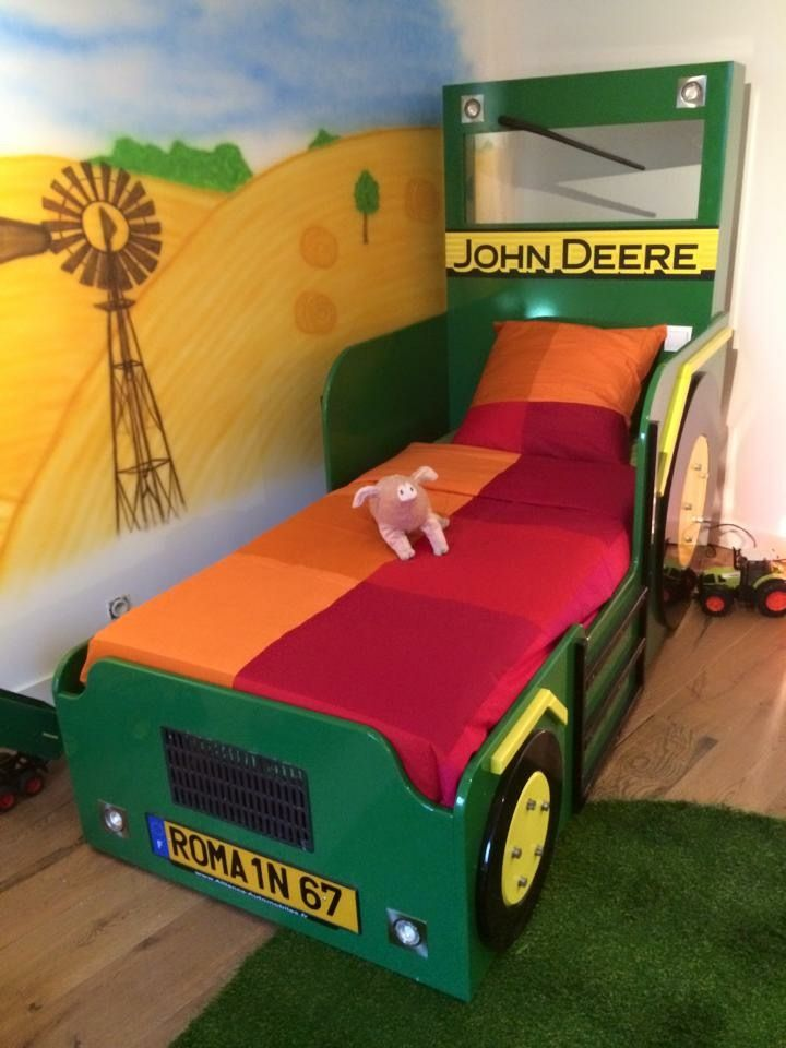 les 25 meilleures id es de la cat gorie lit tracteur sur pinterest salle de john deere lit. Black Bedroom Furniture Sets. Home Design Ideas