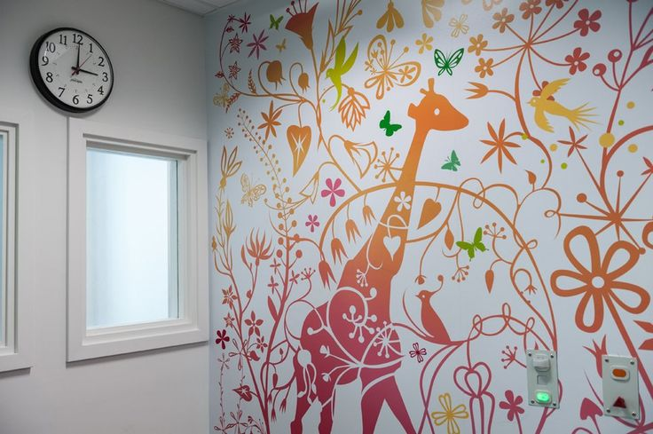Royal London Hospital - artwork Tord Boontje  A commission for Vital Arts for artwork in the paediatric critical care unit at the Royal London Hospital that can be enjoyed by the children, parents and staff.