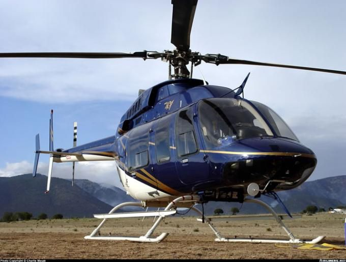 Blue Bell 407 #Helicopter