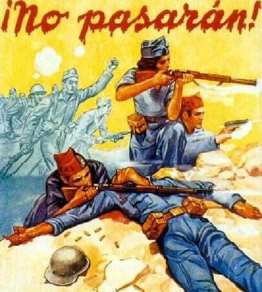 La propoganda para las mujeres de la Guerra civil en Espana
