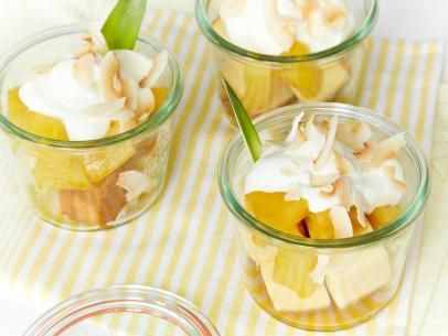 Pineapple-Mango Ambrosia Trifle Recipe | Food Network