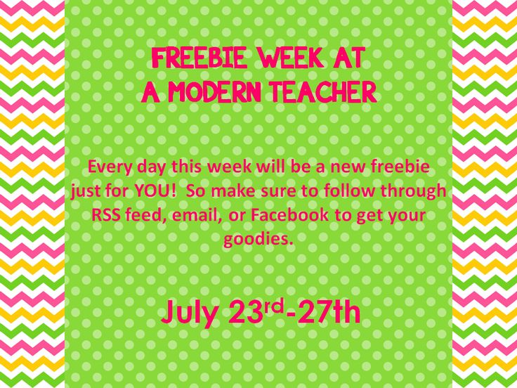 A Modern Teacher: 5th Day of Freebies-Daily Scheduler and Gradebook