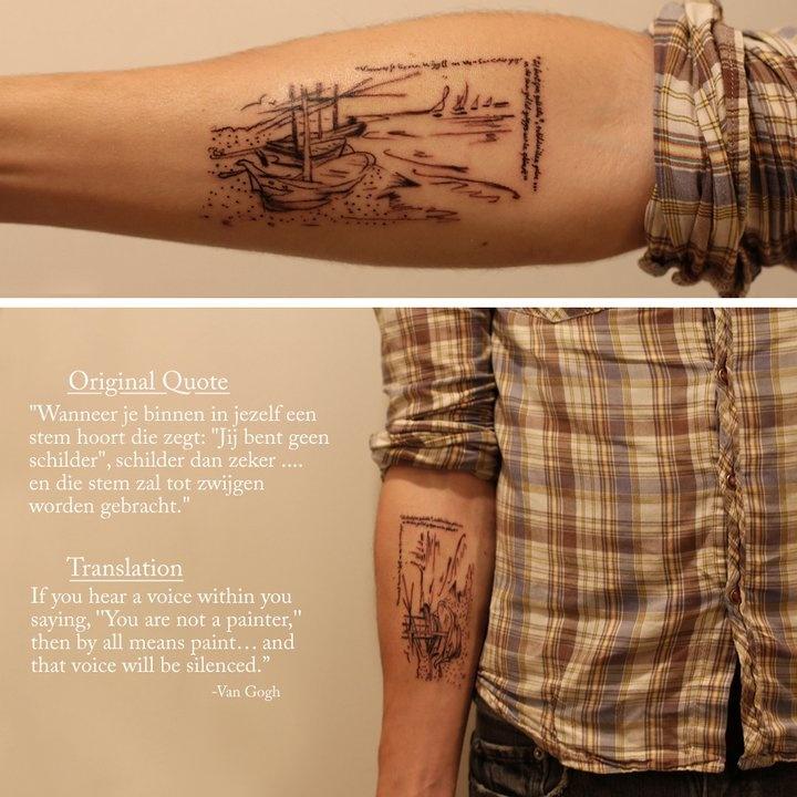 //\\Tattoo Ideas, Tattoo Pattern, Fish Boats, Vans Gogh, Body Art, Cool Ideas, A Tattoo, Anchors Tattoo, Nature Tattoo