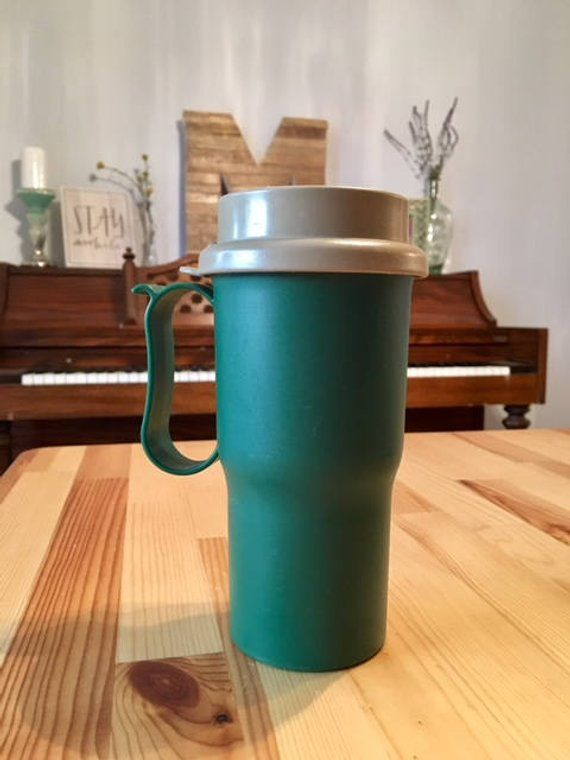 Vintage Tupperware Coffee Travel Mug Commuter Cup With Lid