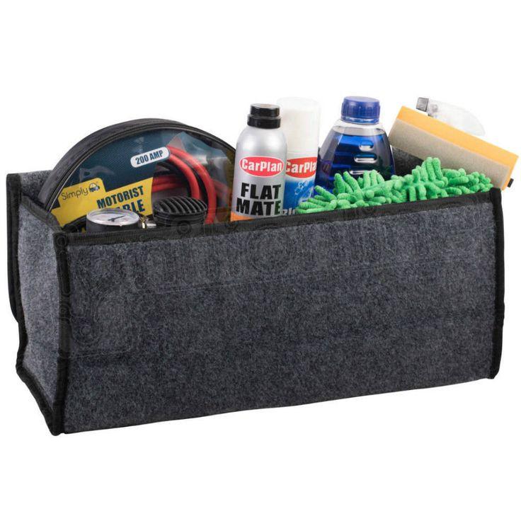 Car Trunk Seat Back Rear Storage Organizer Containers Holder Interior Bag Hanger Storage Bins