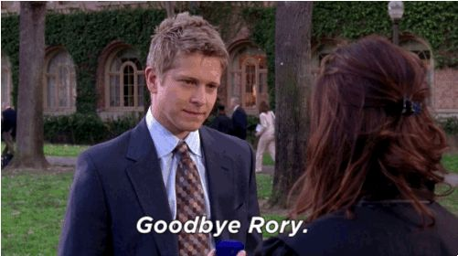 "When Rory turned down Logan's marriage proposal on her graduation day from Yale and he left her forever. | 47 Moments Every ""Gilmore Girls"" Fan Will Never Get Over"