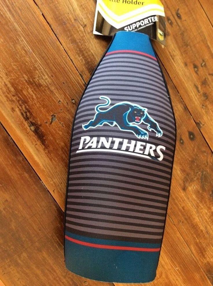 1 X  NRL Penrith Panthers Football Large Bottle Beer Holder Cooler NEW 24cm #3  | eBay