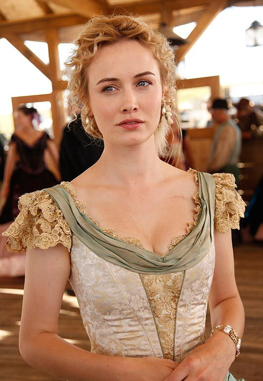 Dominique McElligott as Lily Bell in Hell on Wheels TV Show