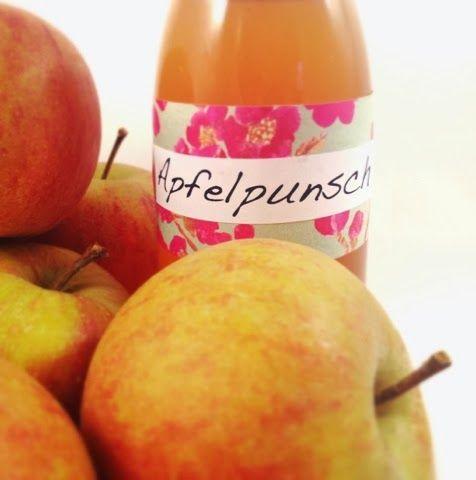LalaSophie: Apfelpunsch Sirup