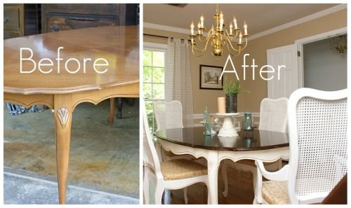 21 Best Images About How To Paint A Dining Room Table On