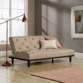 Mason County Convertible Sofa from Wayfair. Maybe for office?