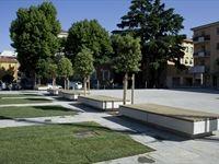 Nuova Piazza Repubblica a Collecchio - Collecchio, Italia - 2009