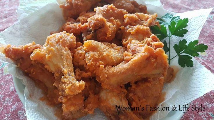 Alette di pollo piccanti all'americana ('Buffalo hot wings')