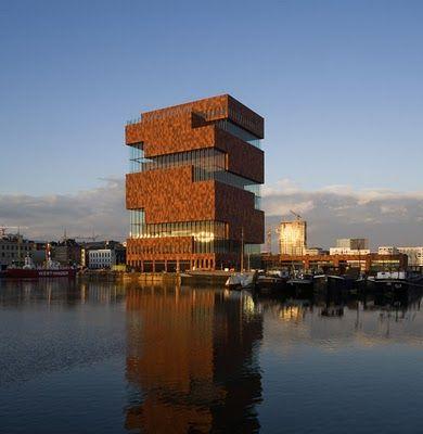 Antwerp, Museum Aan de Stroom (city museum in the old docks)